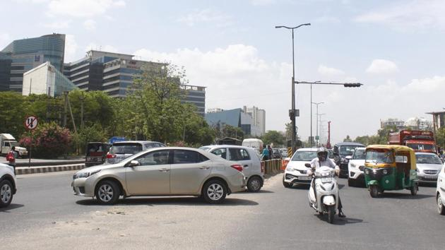 A case of road rage saw a lawyer being assaulted at Fazilpur Chowk on Sohna Road.(Yogendra Kumar/HT PHOTO/Representative Purposes)