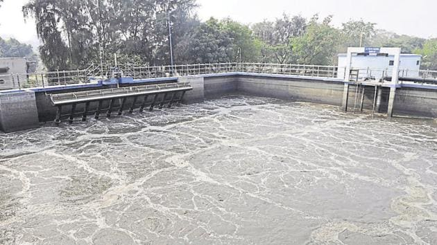 Out of the total 449 sub-drains, 108 have already been trapped by the ISP.(Sunil Ghosh / Hindustan Times)