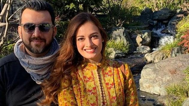 Dia Mirza has announced separation from husband Sahil Sangha.