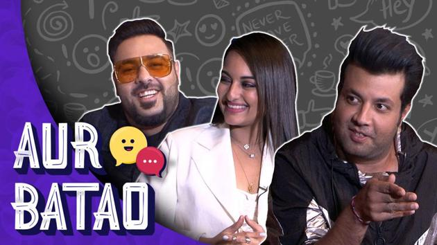 Khandaani Shafakhana interview || Badshah, Sonakshi reveal celebrity crush