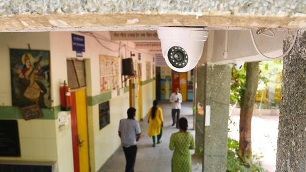 Haryana education department wants CCTV in every school installed.(HT FILE)
