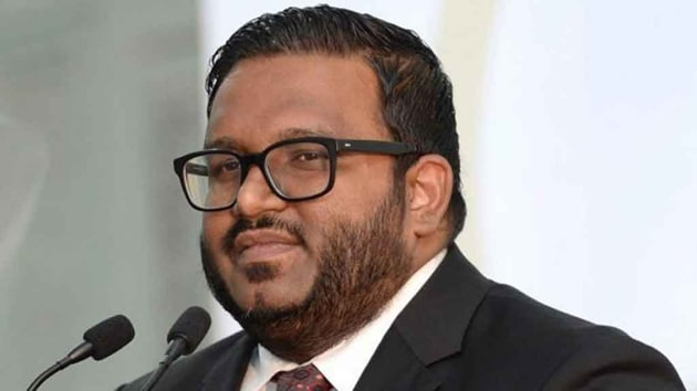 Ahmed Adeeb is due to face a new trial over the attempted murder case and also faces corruption investigations dating back to when he was deputy to Yameen, who was defeated in an election last year.(AFP FILE)