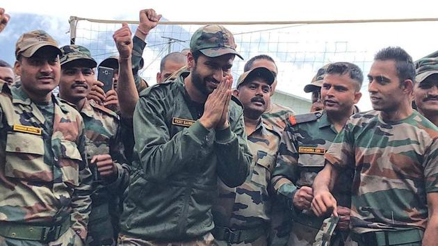 Vicky Kaushal will be spending a few days with Army jawans in Arunachal Pradesh.