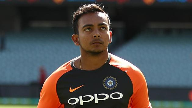 File image of India cricketer Prithvi Shaw.(Getty Images)