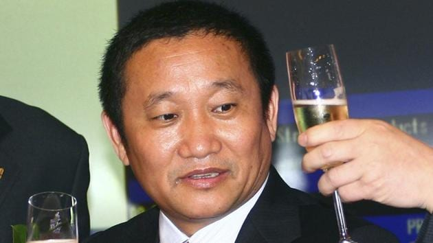 Liu Zhongtian served as chairman and president of the company.(AP Photo)