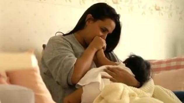 Neha Dhupia has launched an initiative to raise some awareness about breastfeeding.