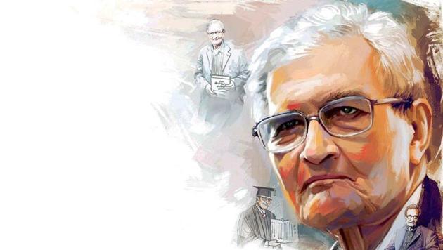 Amartya Sen has been called the Mother Teresa of Economics for his work on famine, human development, welfare economics, the underlying mechanisms of poverty, gender inequality, and political liberalism(Illustration: Unnikrishnan)