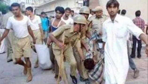 The stampede took place after some devotees slipped on a slope near a temple at Mehrangarh Fort in Jodhpur, resulting in the death of 216 people.(HT FIle Photo)
