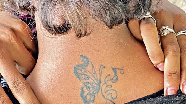 Avinash's family doesn't like his tattoos.(HT Photo)