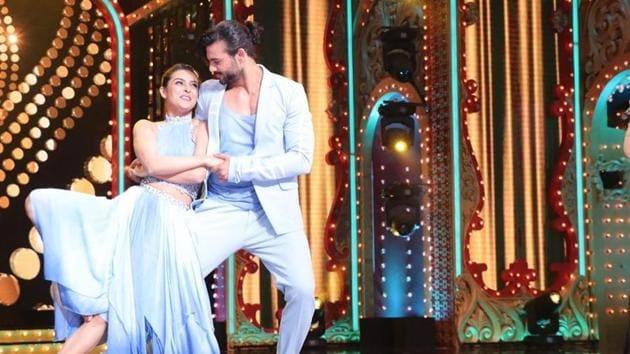 Madhurima Tulli joined Nach Baliye with her ex Vishal Aditya Singh.