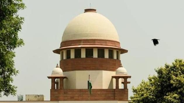 The Ram Janmabhoomi Nyas on Friday welcomed the Supreme Court decision to start day-to-day hearing of the Ayodhya title dispute case after the mediation proceedings failed to yield result.(Amal KS/HT PHOTO)