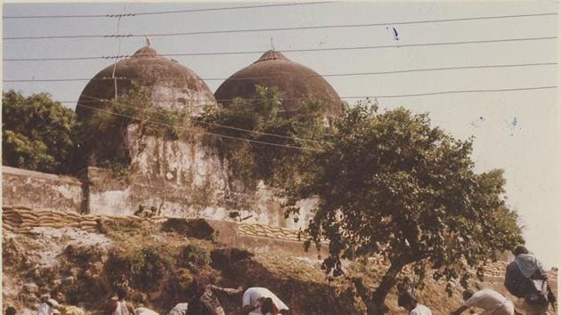 The Supreme Court on Friday decided to hear the Ram Janmabhoomi-Babri Masjid dispute from August 6.(HT File Photo)