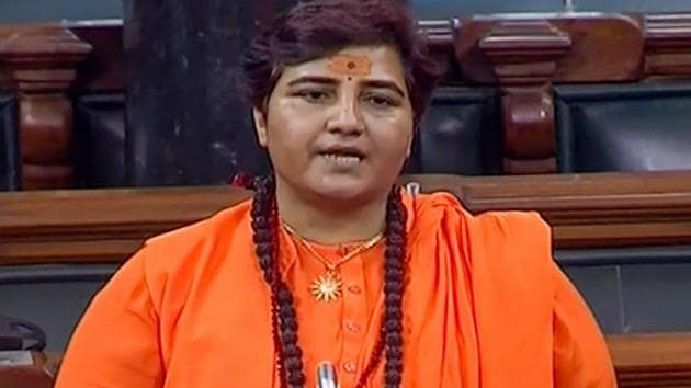 The National Investigating Agency (NIA) has sought an in-camera trial in the 2008 Malegaon blast case in which Pragya Thakur is an accused.(PTI Photo)