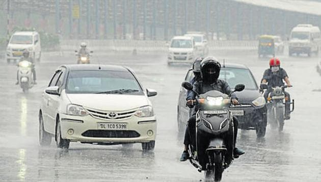 Rainfall over the country is likely to be 100% of the long period average (LPA) in August and September. (Photo by Parveen Kumar/Hindustan Times)