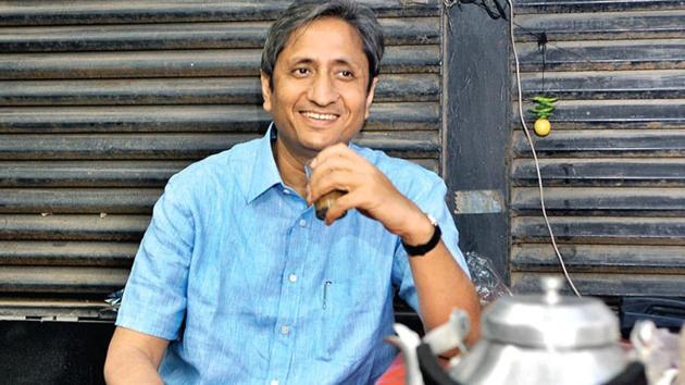 Journalist Ravish Kumar on Friday was awarded this year's Ramon Magsaysay Award, regarded as the Asian version of the Nobel Prize.(File Photo)