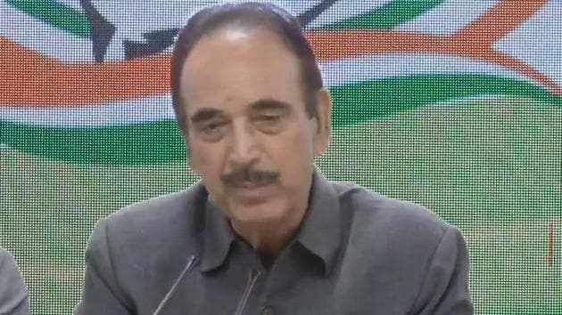 Congress attacked the government over its advisory released for the Amarnath yatra pilgrims and tourists to return 'immediately' from Kashmir. Congress' senior leader Ghulam Nabi Azad said that Amarnath Yatra pilgrims have never been asked to return by under government. The Home Ministry issued an advisory on Friday asking pilgrims of Amarnath Yatra and other tourists to return 'immediately'.