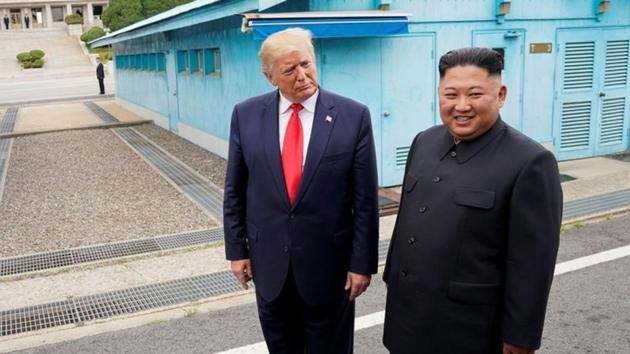 US President Donald Trump said North Korean leader Kim Jong Un will not 'disappoint' him as he has 'too much to lose'.(REUTERS)
