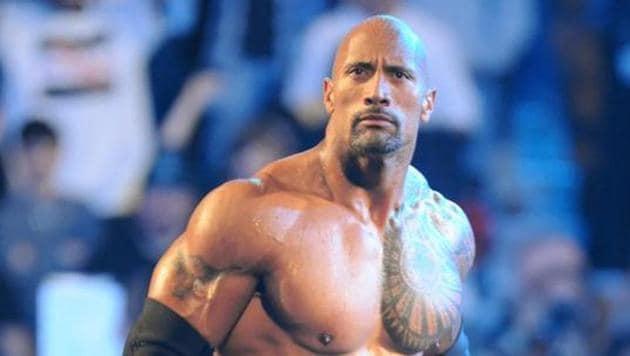 File photo of Dwayne 'The Rock ' Johnson.(Visual Press Agency)