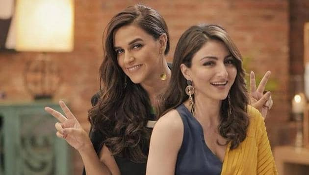 Neha Dhupia and Soha Ali Khan have shared videos to gives fans an update about their friendship.