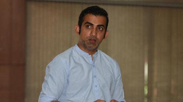 File photo of Gautam Gambhir.(Sonu Mehta/HT PHOTO)