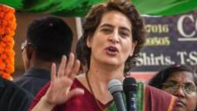 Priyanka Gandhi will certainly be able to enthuse the people in the party and will be an asset as Congress chief, said party leader Karan Singh.(PTI)