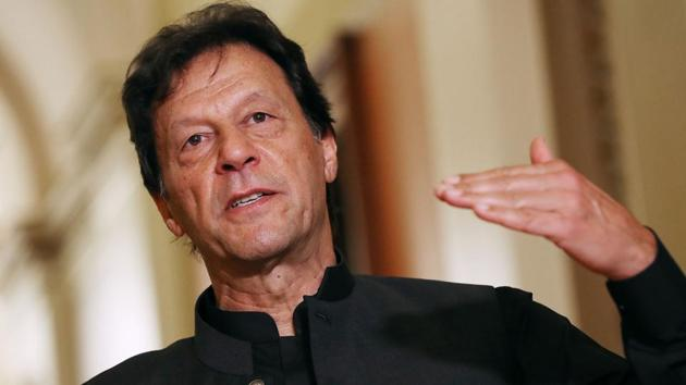Pakistan Prime Minister Imran Khan on Saturday sent a defamation notice of Rs 10 billion to prominent TV anchor .(AFP File Photo)