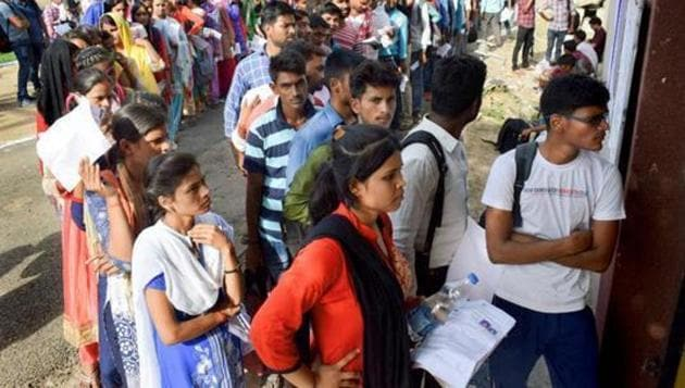 UPPRPB has released the admit cards for document verification (DV) and physical standards test (PST) of candidates shortlisted for Reserve Civil Police and Reserve PAC - Scrutiny of records recruitment .(PTI file)