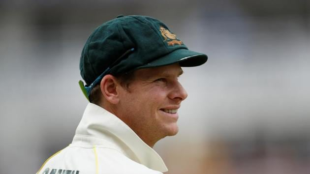 Australia's Steve Smith has scored hundreds in both innings of the Ashes Test at Edgbaston(Action Images via Reuters)