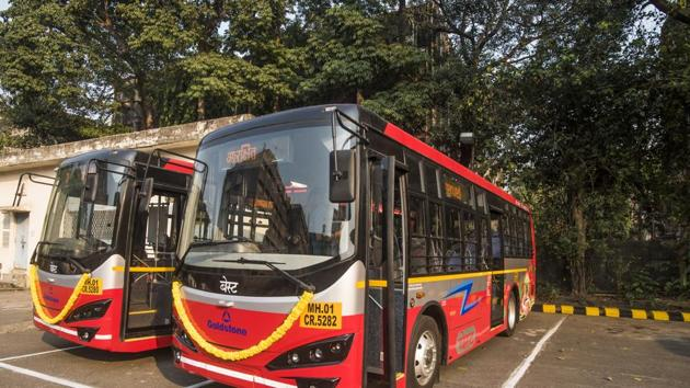 Anik bus depot at Wadala,Mumbai,is likely to be a part of the proposed Integrated Transport Hub .(Pratik Chorge/HT Photo)