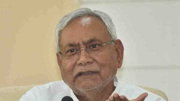 Nitish Kumar(HT photo)