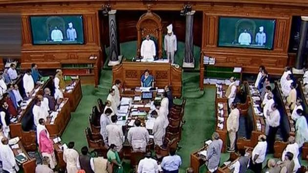 Lok Sabha Monday gave its nod to a bill to increase the strength of Supreme Court judges(PTI)