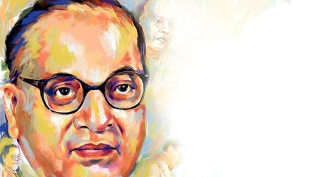 BR Ambedkar was the first Indian to earn a doctorate degree in economics from a foreign varsity.(Illustration: Biswajit Debnath)