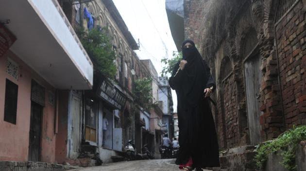 Lucknow's Kashmiri Mohalla.(HT Photo)