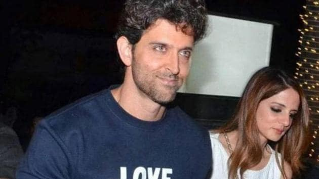 Hrithik Roshan and Sussanne Khan tied the knot in 2000 and split in 2014.