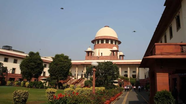 """A bill which sought to bar judges from making """"sweeping remarks"""" against another constitutional authority was brought by the previous UPA government, but lapsed following the dissolution of the 15th Lok Sabha.(HT image)"""
