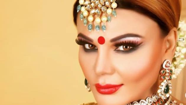 Rakhi Sawant has said that her husband works for Donald Trump's company.
