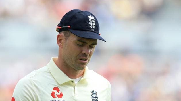File image of James Anderson(AFP)