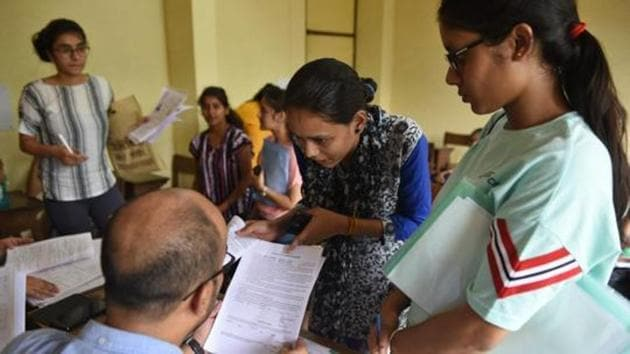 Deadline to extend by few hours for UG medical admissions.(Sanchit Khanna/HT PHOTO)