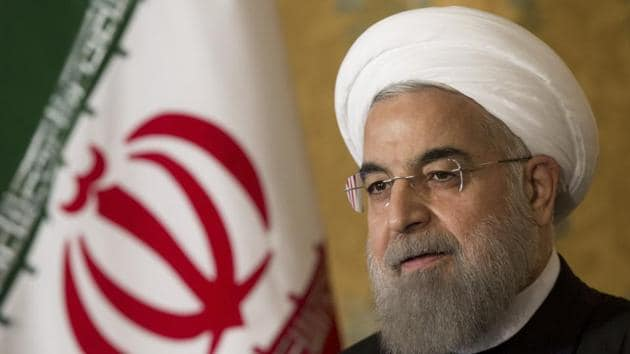 Hassan Rouhani said war with Iran is the mother of all wars.(AP photo)