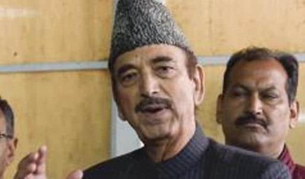 Congress leader Ghulam Nabi Azad opposed the move in the Rajya Sabha.(AP Photo)