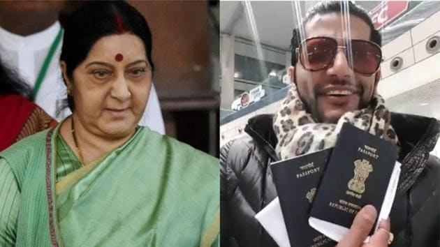 Karanvir Bohra mourns the death of Sushma Swaraj, who had helped him as the external affairs minister when he was detained in Russia.