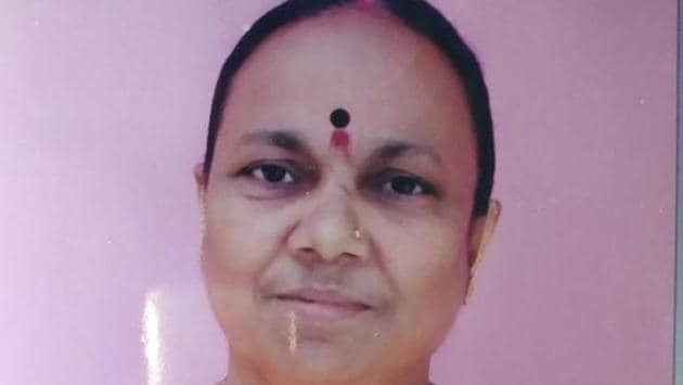 60-year-old woman who had fallen into the Vaitarna creek, found dead.(HT PHOTO)