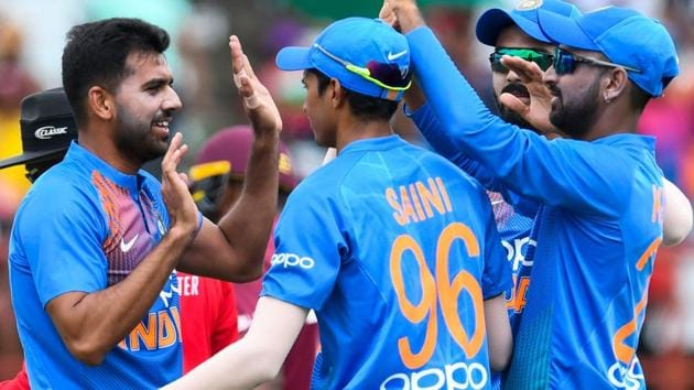 India vs West Indies: Catch all the highlights of the third and the final T20I at the Providence Stadium in Guyana through our live blog.(AFP)