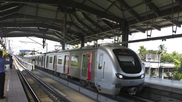 Two Metro lines get a fillip in Mumbai.(HT photo)