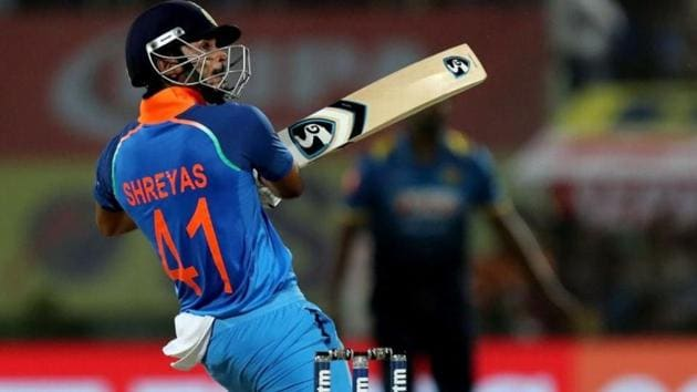 Shreyas Iyer is set to make his comeback in the ODI side.(Twitter)