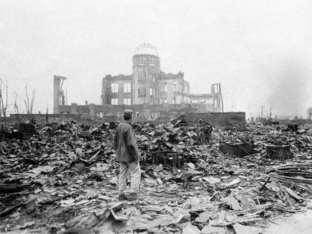 August 2020 marks the 75th anniversary of Hiroshima-Nagasaki. Alas, there is no silver lining to this dark, bleak cloud(AP Photo/Stanley Troutman)