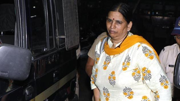 Sudha Bharadwaj in Pune, India, October 27, 2018)(Rahul Raut/HT PHOTO)