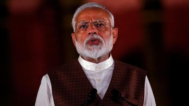 PM Modi to address the nation in special broadcast by All India Radio at 4 pm today.(REUTERS Photo)