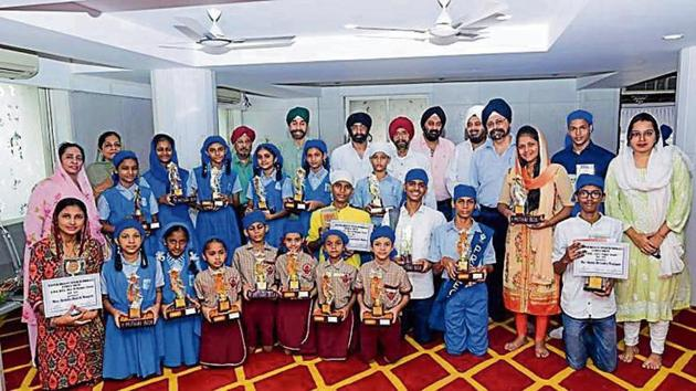 The celebrations took place at Gurudwara Dhan Pothohar Nagar.