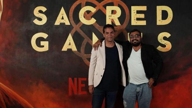 Filmmakers Vikramaditya Motwane and Anurag Kashyap return as showrunner and co-director for Sacred Games season two.